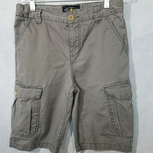 Lucky Size 12 cargo shorts with adjustable waist